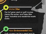 Golf Courses Environment Infographic
