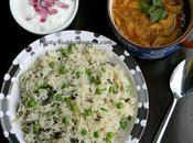 Peas Pulao Recipe Matar Make