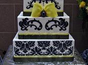 Outrageously Gorgeous Damask Wedding Cakes