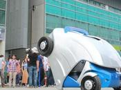 Korean Engineers Unveil Armadillo-T, Foldable Compact Electric