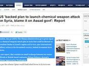Conspiracy Theory Proven True? Syria, Chemical Attacks Obama (Video)