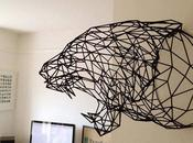 These Wireframe Animal Heads Both Beautiful Wildlife-Friendly