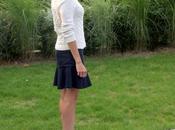 Pinstripe Mini-skirt