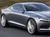Volvo Unveils 400HP Plug-In Hybrid Concept Coupé