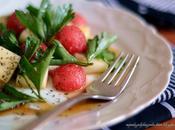 Watermelon Cheese Salad Салат Арбуза Сыра