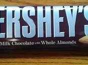Hershey's Creamy Milk Chocolate with Whole Almonds Review