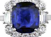 Thirsty Thursday: Sapphire Cocktail Ring