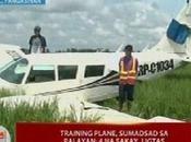 Training Plane Crashed Home Town Laoac, Pangasinan