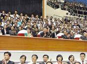 Jong Watches Women's Weightlifting Competition 2013 Asian