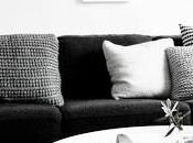 Scandinavian Home Styling Black White
