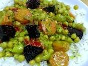 Roast Beetroot Carrot Curry