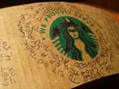 Scrap Paper Poetry Proudly Serve Starbucks Overlords