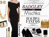 Create Glamorous Look Badgley Mischka Designer Evening Dress!