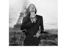 "Kristina Salinovic ""Rêves Parisiens"" Harper's BAZAAR Benjamin Kanarek"