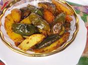 Aloo Baingan Sabzi/ Potato Brinjal Stir