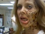 Kristin Bauer's Rotting Face from True Blood Season