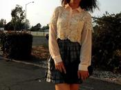 Sheer Blouse, Layered with Lace