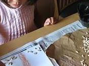 Kids Crafts:Making Autumn Tree with Pumpkin Seeds