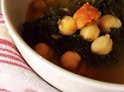 Thermomix Recipe: Caldo (Spanish Chicken Broth with Kale, Chickpeas Chorizo)