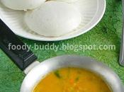 Tiffin Sambar Recipe Idly With Moong
