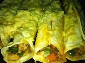 Burrito Recipe with Pork, Chile Powder, Garlic, Oregano Tortillas.