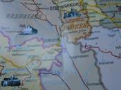 World Borders: from Armenia Nagorno Karabakh (Tegh Berdadzor)