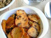 Sweet Potato Recipe Sakkarivalli Kizhangu Poriyal Indian Style