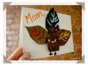 Thanksgiving Turkey Table Cards Tutorial