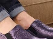 Shoe Klogs Naples Plum Tooled Clogs