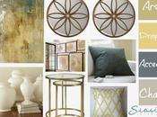 Blue Gold Living Room Makeover!