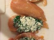 Spinach Goat Cheese Stuffed Chicken #WeekdaySupper