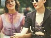 Color Photos Parisian Women 1930s 1940s