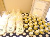 Lemon Navy Bridal Shower