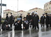 Protests Over Arrests Yeshiva Bochurim Being AWOL from