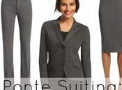 Allie: Ponte Suiting