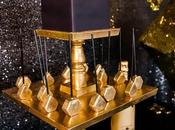 Glistening Gold Geometric Luxe Party Celebrate Bring Year Sweet Empire