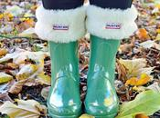 Hunter Boots Keep Feet During Christmas Storms