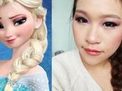 Disney's Frozen Elsa Makeup Inspired Look