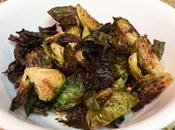 Crispy Baked Garlic Brussels Sprouts Chips Recipe