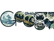 Google Doodle Tribute Ancestor -The Gorilla