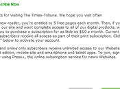 Dying Breed: Times-Tribune Gives Away Readership Without Fight