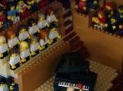 Sydney Opera House Built from LEGO