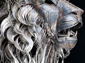 Scrap Metal Lion Sculpture Selçuk Yılmaz