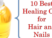 Best Healing Oils Hair Nails