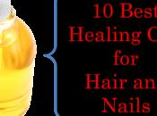 Best Healing Oils Hair Nails