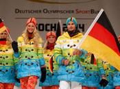 Rainbow Uniforms Russian Olympic Volunteers?