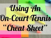 "Using On-Court Tennis ""Cheat Sheet"" Podcast"