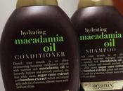 Organix Hydrating Macadamia Shampoo Conditioner