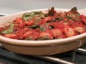 Baked Gnocchi with Spinach Homemade Tomato Sauce #WeekdaySupper
