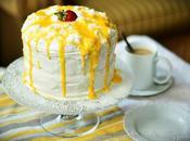 Coconut Orange Marshmallow Cake Кокосово-Апельсиновый Торт Маршмеллоу